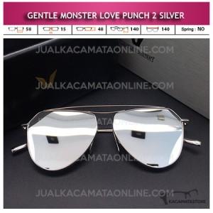 Model Kacamata Gentle Monster Love Punch 2 Silver