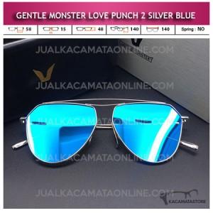 Jual Kacamata Gentle Monster Love Punch 2 Silver Blue