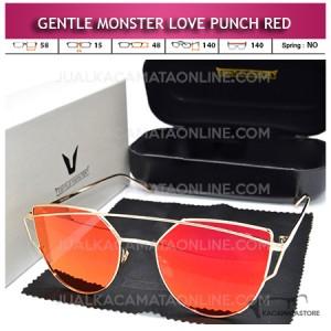Jual Kacamata Gentle Monster Love Punch Red