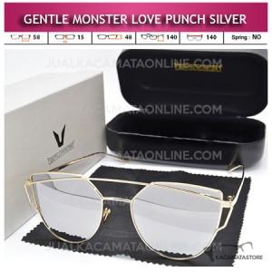 Jual Kacamata Gentle Monster Love Punch Silver
