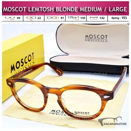 Jual Kacamata Moscot Lemtosh Blonde Terbaru