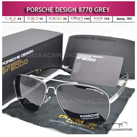Jual Kacamata Porsche Design 8770 Polarized Grey