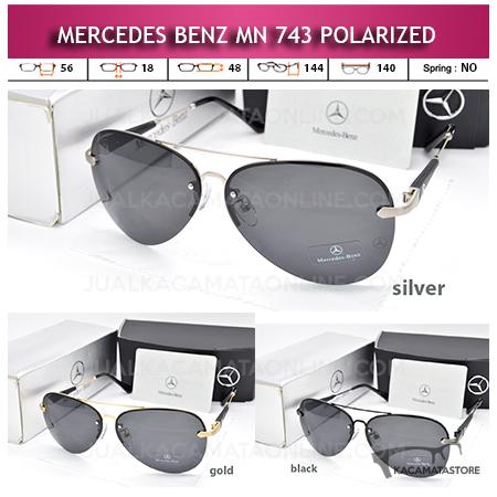 Jual Kacamata Gaya Pria Mercedes Benz 743