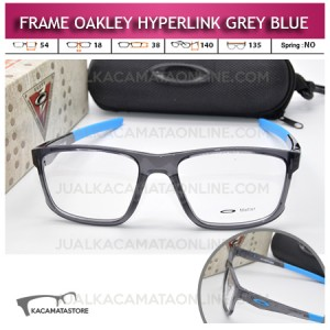 Frame Kacamata Oakley Hyperlink Grey Blue
