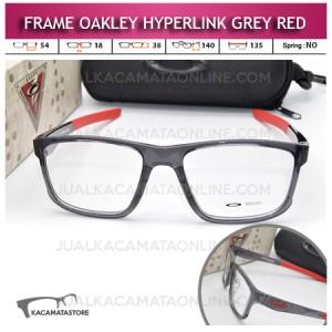 Jual Frame Kacamata Oakley Hyperlink Grey Red