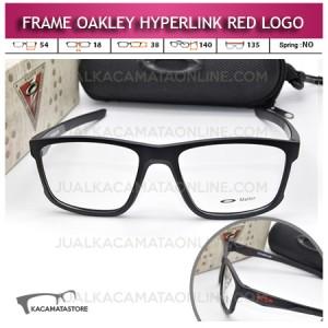 Jual Frame Kacamata Oakley Hyperlink Red Logo