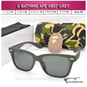 Kacamata A Bathing Ape 6807 Streetwear Grey