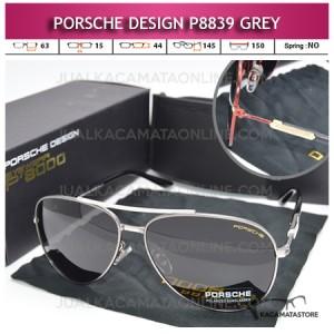 Jual Kacamata Gaya Porsche Design P8839 Grey