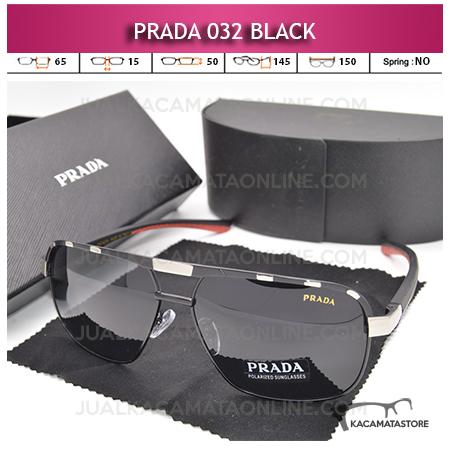 Harga Kacamata Gaya Prada 032 Black