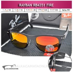 Kacamata Gaya Rayban Rb4351 Fire