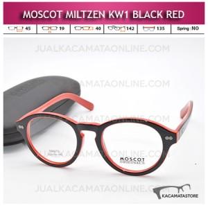 Grosir Kacamata Moscot Miltzen KW1 Black Red