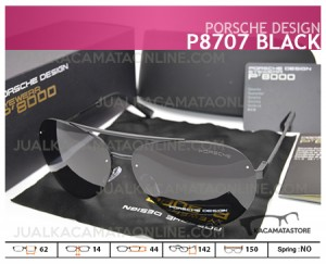 Jual Kacamata Pria Porsche Design P8707 Black