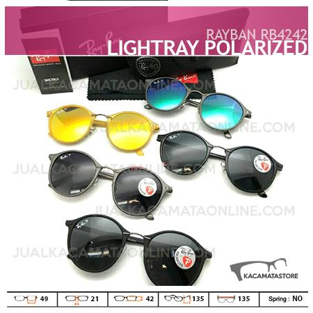 Jual Kacamata Rayban Terbaru Rb4242 Lightray Polarized