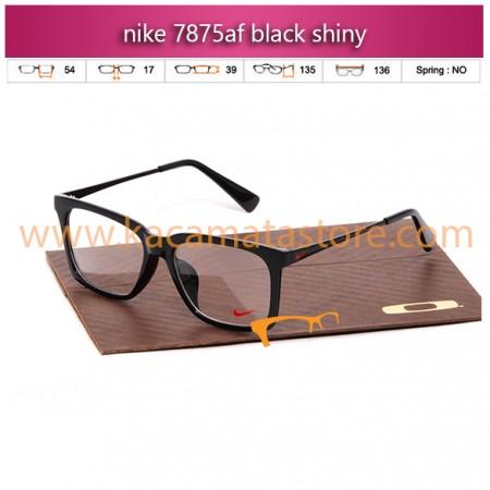 harga frame kacamata nike 7875af black shiny toko jual kacamata online pria wanita branded kacamata rayban kw murah terbaru 2015