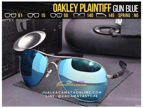Gambar Kacamata Oakely Terbaru Plaintiff Gun Blue