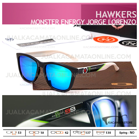 Jual Kacamata Hawkers Monster Energy Jorge Lorenzo