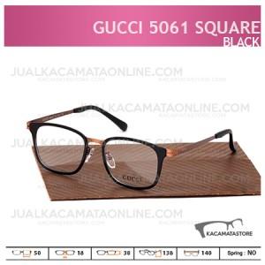 Kacamata Minus Gucci 5061 Square Black