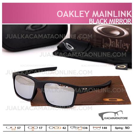 Model Kacamata Pria Terbaru Oakley Mainlink Black Mirror