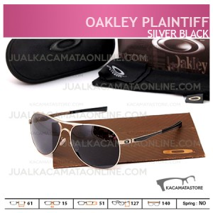 Harga Kacamata Pria Terbaru Oakley Plaintiff Silver Black