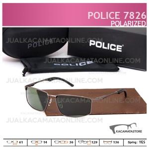 Jual Kacamata Pria Police 7826 Polarized