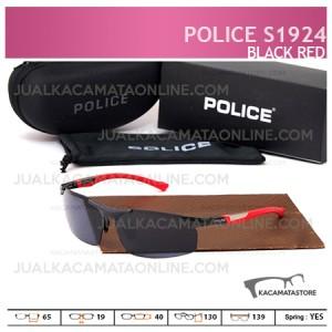 Jual Kacamata Pria Police S1924 Black Red