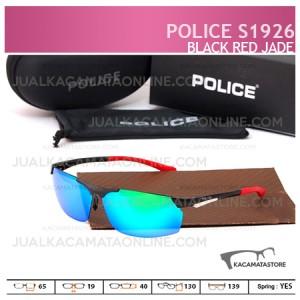 Kacamata Pria Police S1926 Black Red Jade