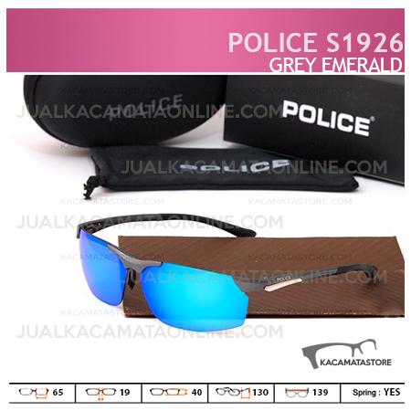 Kacamata Pria Police S1926 Grey Emerald