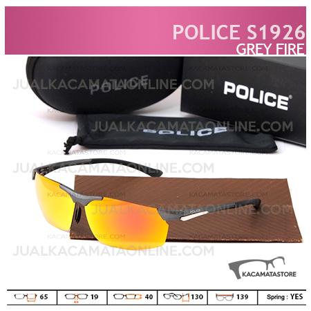 Kacamata Pria Police S1926 Grey Fire