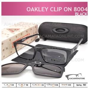 Moel Kacamata Double Lensa Clip On Oakley 8004 Black