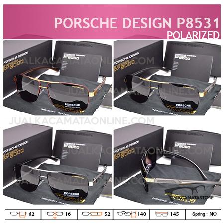 Gambar Kacamata Pria Terbaru Porsche Design P8531 Polarized