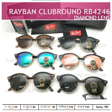 Gambar Kacamata Rayban Terbaru Clubround Rb4242, Harga Kacamata Rayban, Model Kacamata Rayban Terbaru