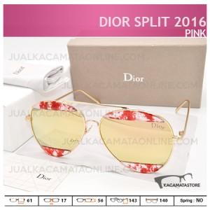 Gambar Kacamata Wanita Terbaru Dior Split 2016 Pink