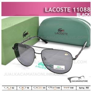 Model Kacamata Lacoste 11088 Black - Harga Kacamata Pria Terbaru