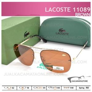 Jual Kacamata Lacoste 11089 Brown - Harga Kacamata Pria Terbaru