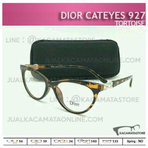 Frame Kacamata Minus Dior Cateyes 927 Tortoise - Harga Moel dan Gambar Kacamata Wanita Terbaru