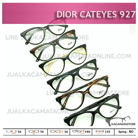 Jual Frame Kacamata Minus Dior Cateyes 927 - Harga Moel dan Gambar Kacamata Wanita Terbaru