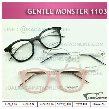 Jual Frame Kacamata Minus Gentle Monster 1103 - Model Kacamata Terbaru