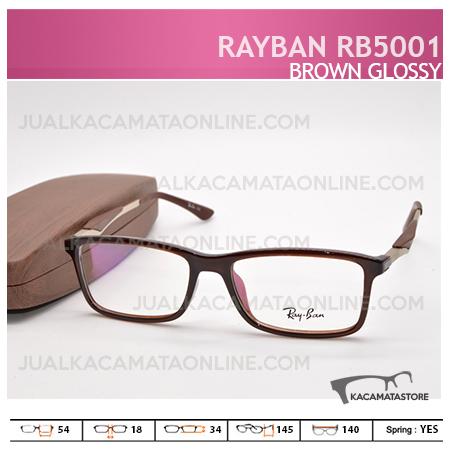 Gambar Frame Kacamata Rayban Rb5001 Brown Glossy