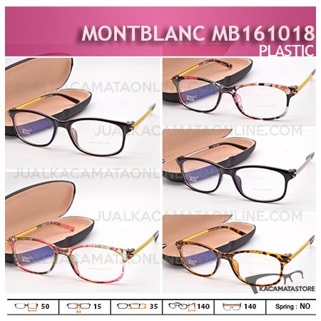 Jual Frame Kacamata Terbaru MontBlanc MB161018, Harga Model dan Gambar Frame Kacamata Terbaru