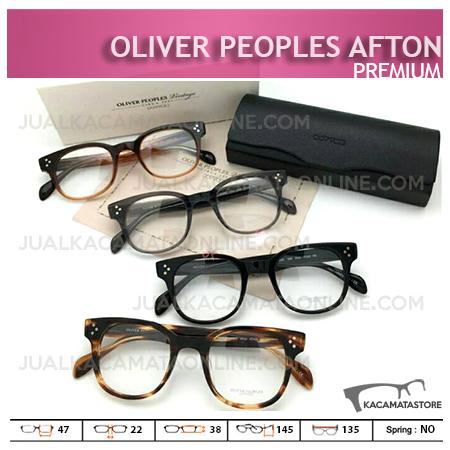 Jual Frame Kacamata Terbaru Oliver Peoples Afton, Harga Model dan Gambar Kacamata Terbaru