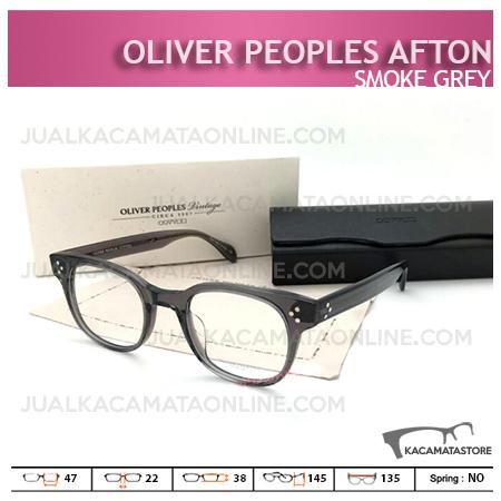 Jual Frame Kacamata Terbaru Oliver Peoples Afton Smoke Grey, Harga Model dan Gambar Kacamata Terbaru