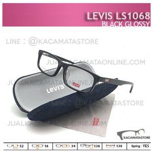 Frame Kacamata Terbaru Levis LS1068 Black Glossy - Model Kacamata Terbaru