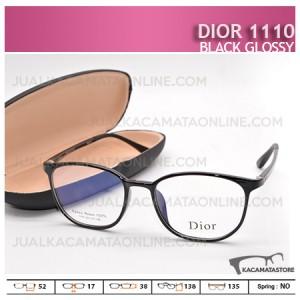 Kacamata Minus Dior 1110 Black Doff - Harga Model dan Gambar Kacamata Terbaru