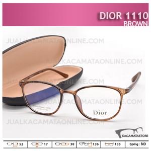 Kacamata Minus Dior 1110 Brown - Harga Model dan Gambar Kacamata Terbaru