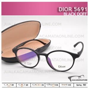 Kacamata Minus Dior 5691 Black Doff - Harga Model dan Gambar Kacamata Terbaru