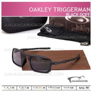 Model Kacamata Oakley Terbaru Triggerman Silver Black Doff