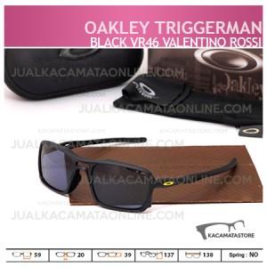 Jual Kacamata Oakley Terbaru Triggerman Silver Valentino Rossi