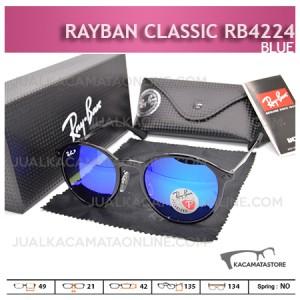 Gambar Kacamata Rayban Classic Rb4224 Blue