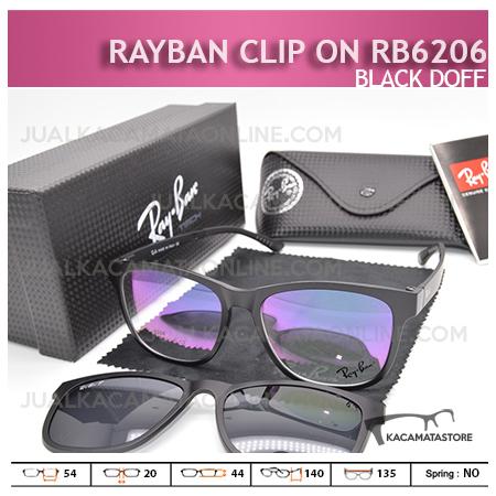 Harga Kacamata Rayban Double Lensa Rb6206 Black Doff - Gambar Kacamata Terbaru