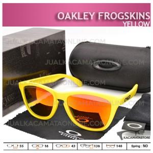Jual Kacamata Oakley Terbaru Frogskins Surf Series Yellow - Harga Model dan Gambar Oakley Frogskins Terbaru